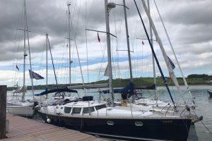 The fleet on the pontoon in Courtmac