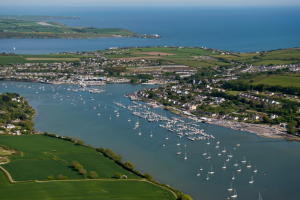 The picturesque village of Crosshaven in Cork is home to the Royal Cork Yacht Club, the oldest yachting club in the world.